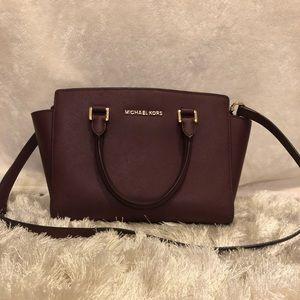 Plum Michael Kors Handbag